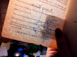 His/Her's signature was obstructed by the shop's stamp :( But he/she is remembered.